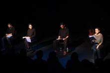 Left to Right: Zaher Omareen, Taghrid Choucair-Vizoso, Robin Yassin-Kassab and Läila Alj