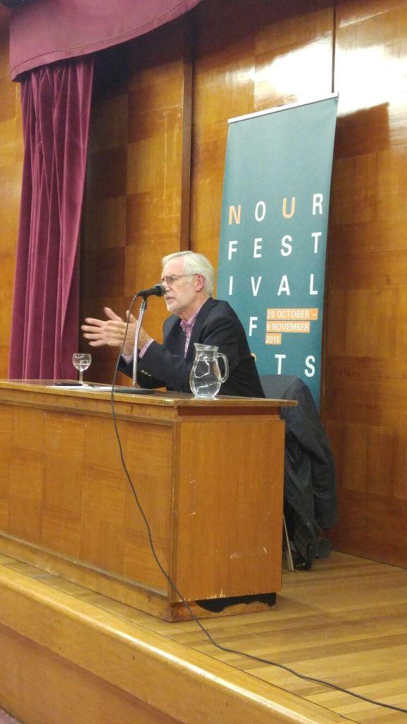 Nour Festival Talk of John McHugo's Syria: A Recent History Talk