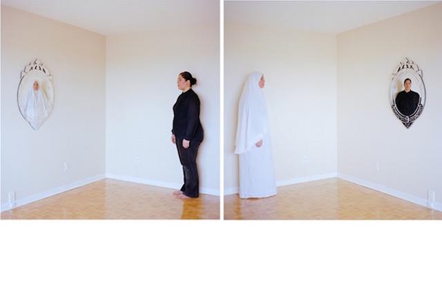 Arwa Abouon's Mirror Mirror/Allah Allah for Nour Festival