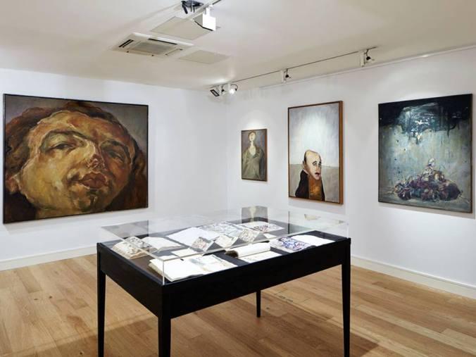 Marwan Kassab-Bachi Exhibition Installation Shot